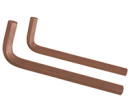 Allen Keys Brown Finish (Size in inches)
