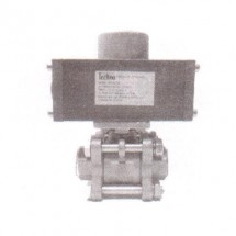 "Actuator With 3 PC SS316 Ball Valve Techno DN15BV3-SE 1/2"" Thread Size"