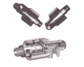 """2-Way Rotor Coupling Right /Left Hand Thread Techno 2"""" Inch Thread Size"""