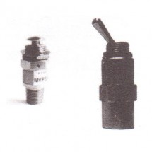 3/2 Lock Down- Miniature Size MAC Type Mechanical Valve MVL23-M5 Techno M5 Thread Size
