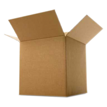 Corrugated box 10 length 10 width 10 height inches 100 GSM 3 Ply to Carry load of upto 10kg