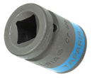Impact Sockets Hexagonal 12.7mm - 1/2 Square Drive